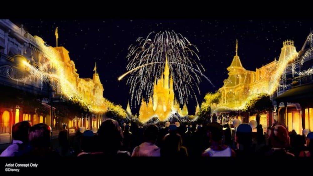 """""""Disney Enchantment"""" Fireworks Show To Debut Oct. 1st"""