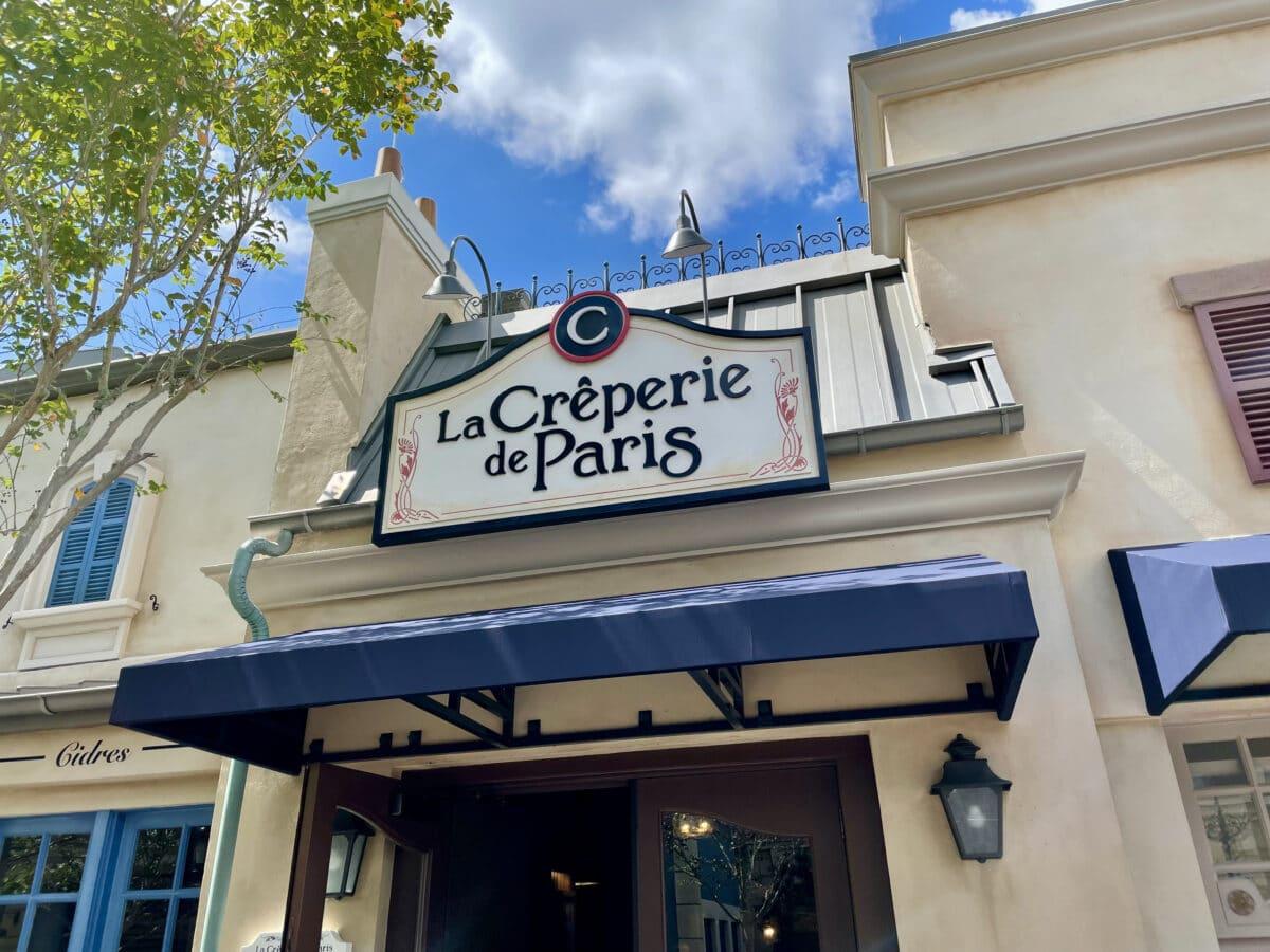Crepe shop in France Pavilion
