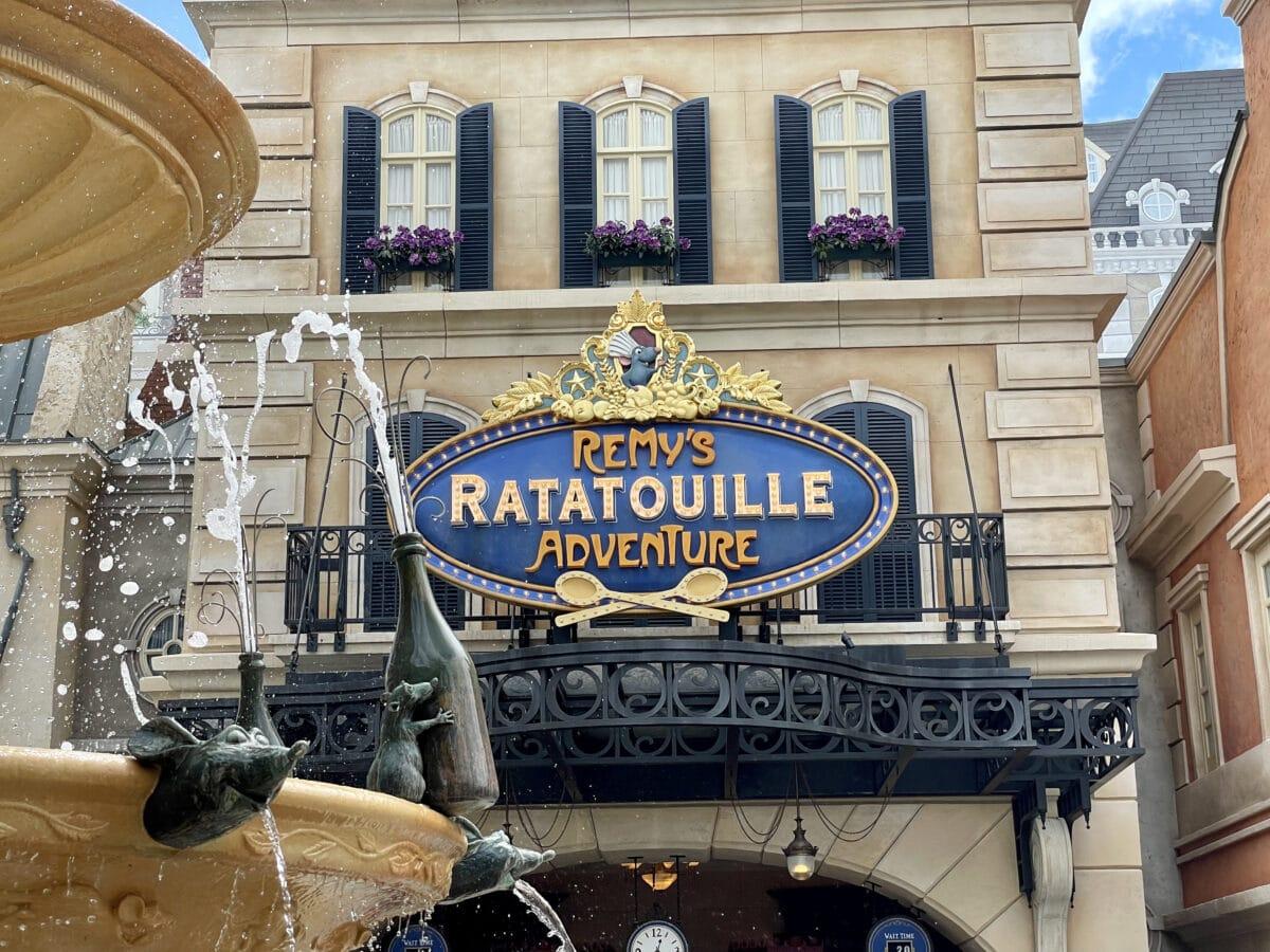 Remy's Ratatouille Adventure Attraction Review EPCOT