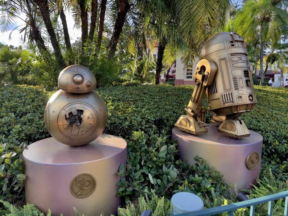 Star Wars Robot Statues