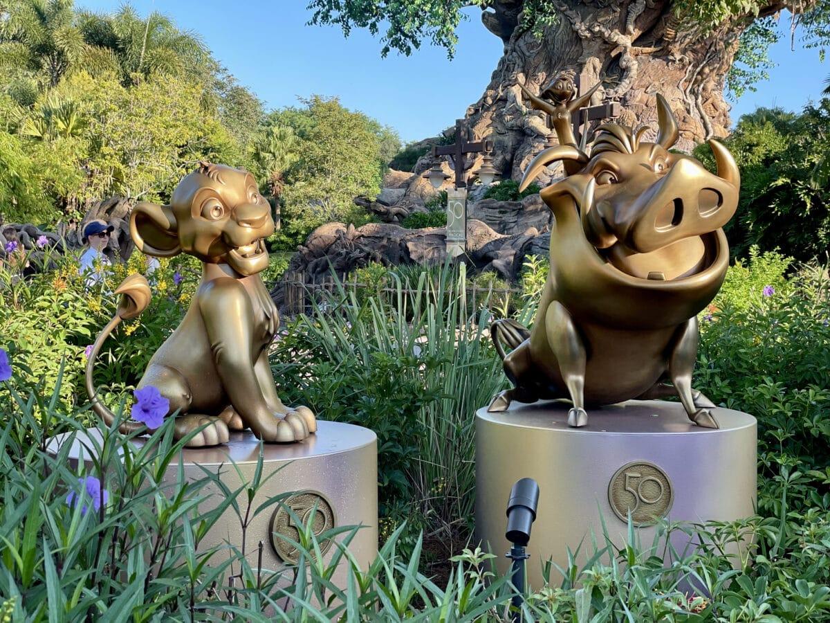 Lion King Animal Statues