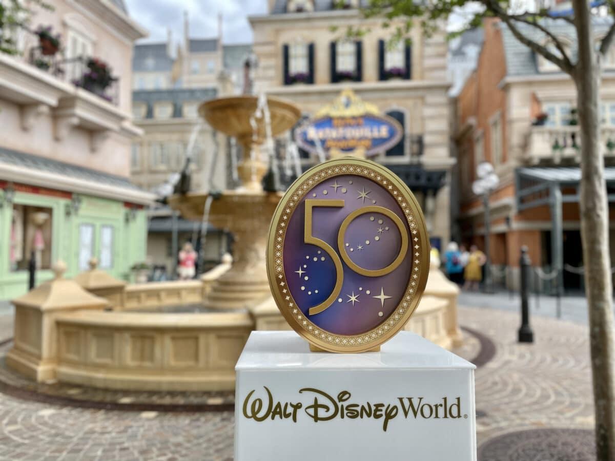 Disney World's 50th Anniversary Food Guide