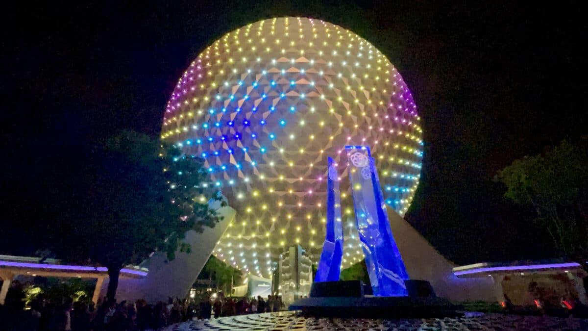 EPCOT ball in multi-color
