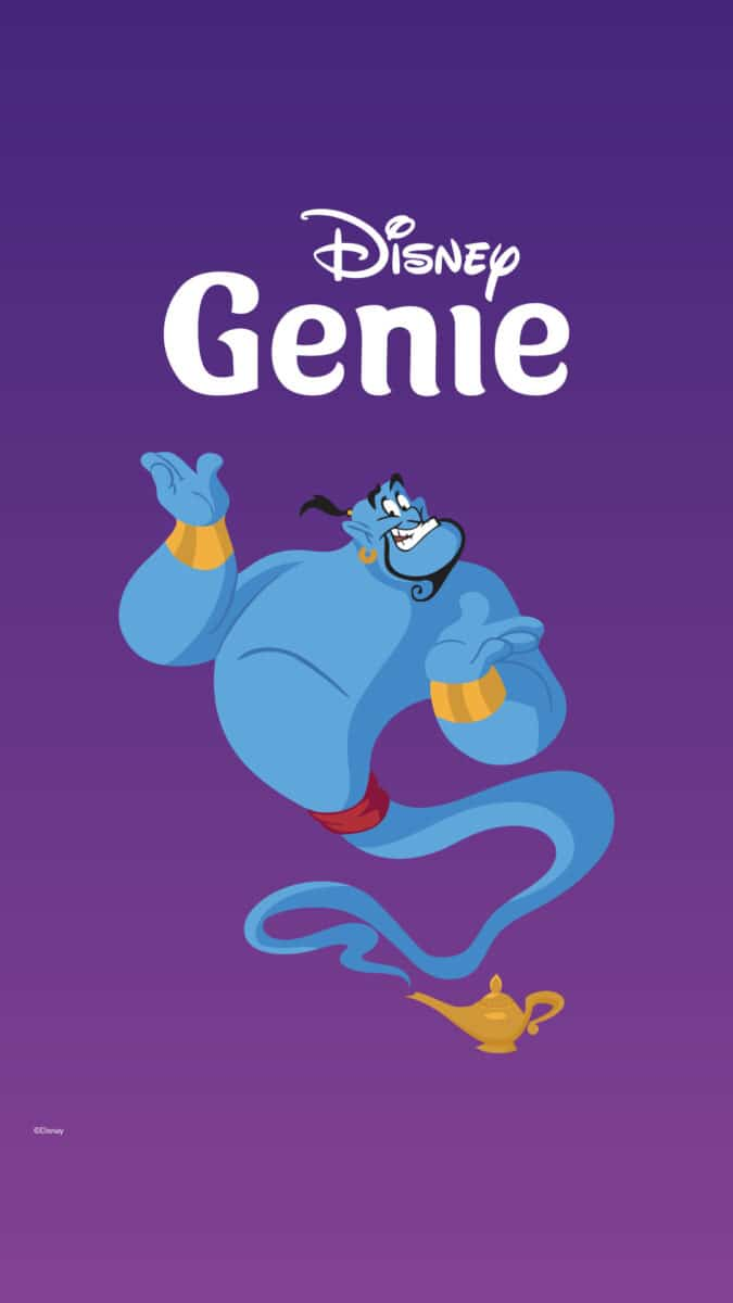 Image of Genie out of a lamp