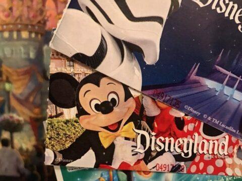Three Disneyland Park Tickets